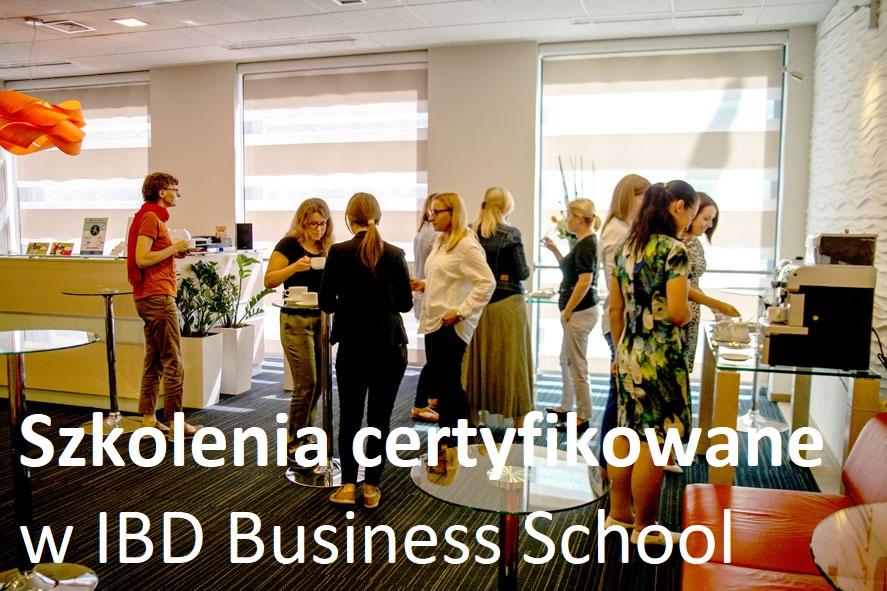 Szkolenia certyfikowane w IBD. Co je wyróżnia