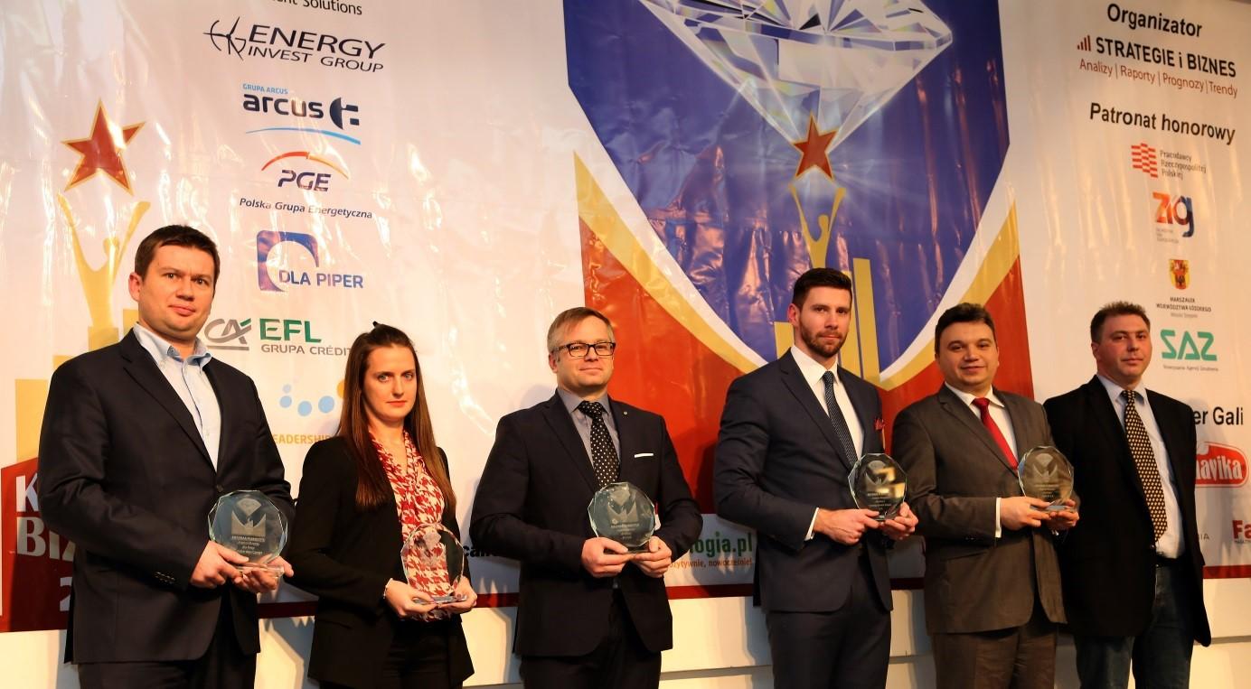 Laureaci konkursu Kreator Biznesu 2015