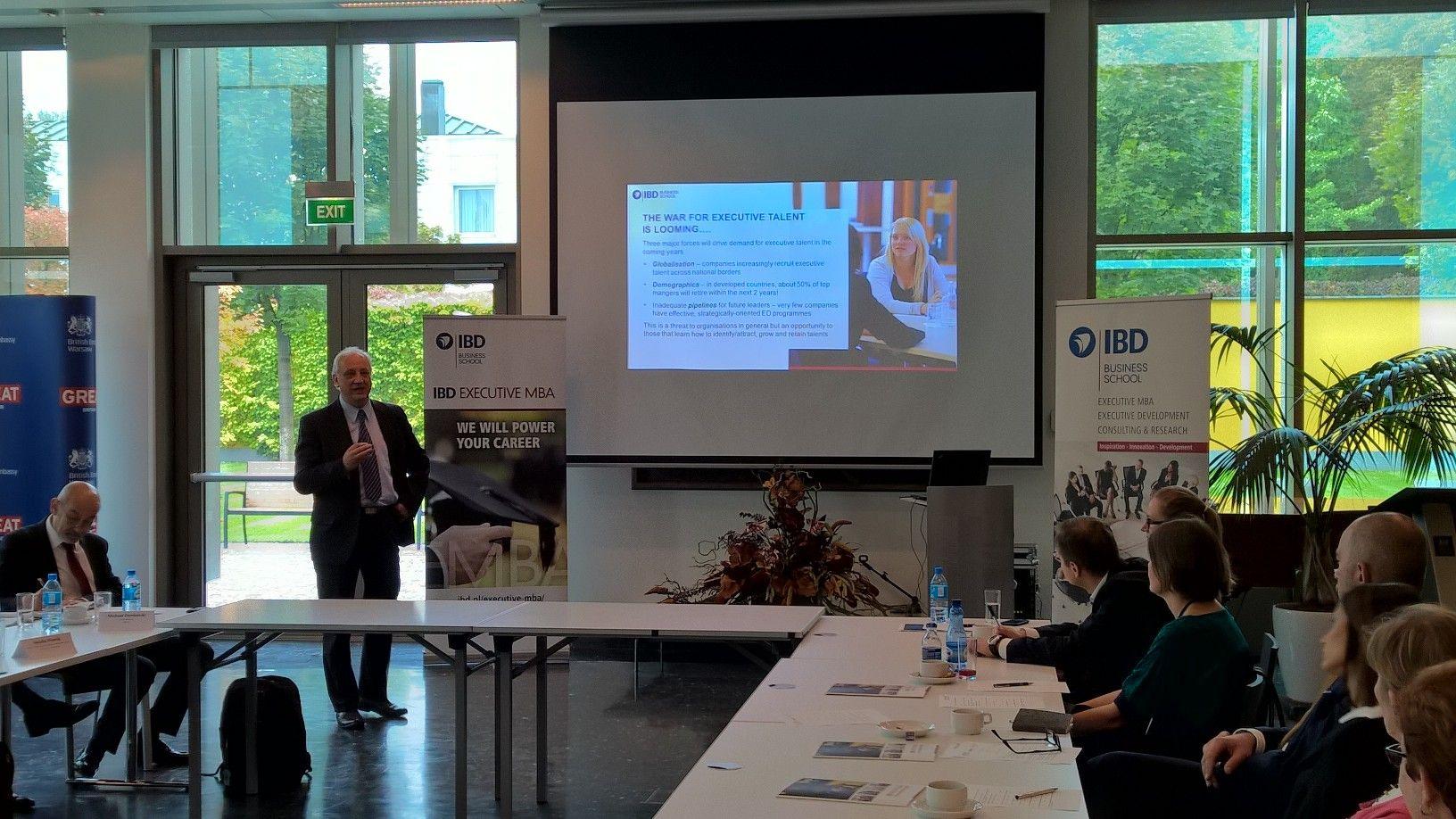 Seminarium Executive Talent Executive Development