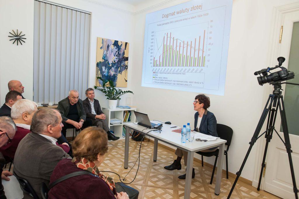 Seminarium IBD: Rozwój gospodarczy II RP analiza porównawcza. Fotorelacja