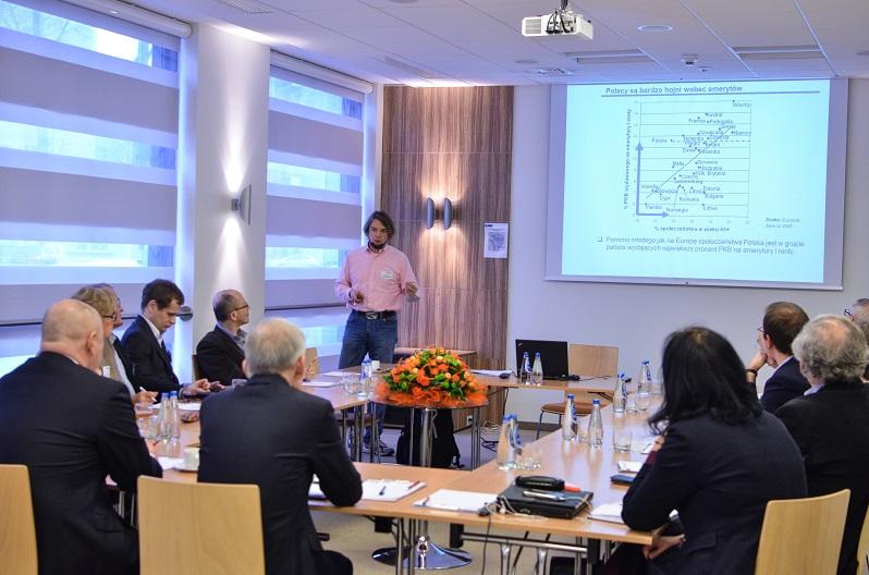 Seminarium IBD Czy Polsce grozi konflikt pokoleniowy 15 stycznia 2015. Fotorelacja