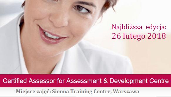 Certified Assessor for Assessment & Development Centre