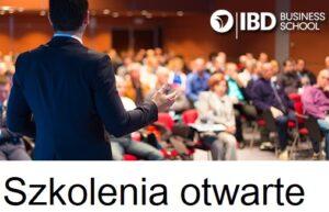 Najbliższe szkolenia otwarte w IBD Business School