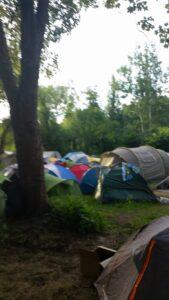 namioty na polanie