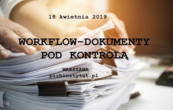 Workflow - dokumenty pod kontrolą. Konferencja